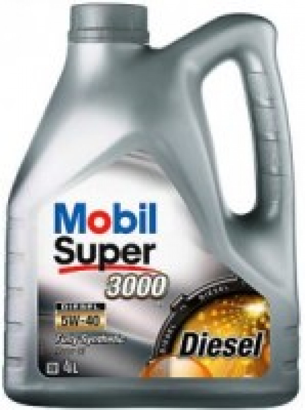 Mobil   синт   Super 3000   5W-40   Diesel, масло моторное  4л