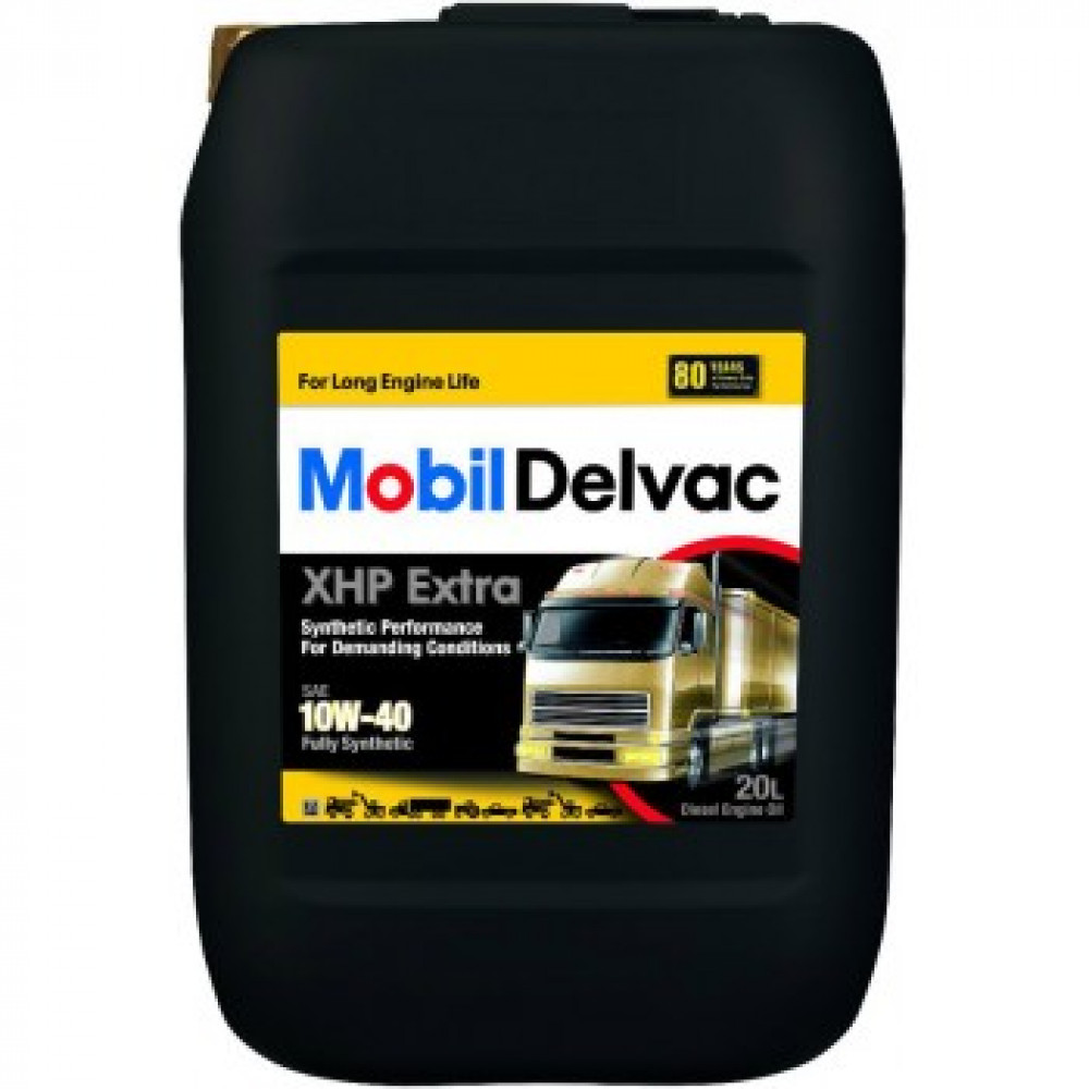 Mobil Delvac MX Extra 10W-40, масло моторное  20 л