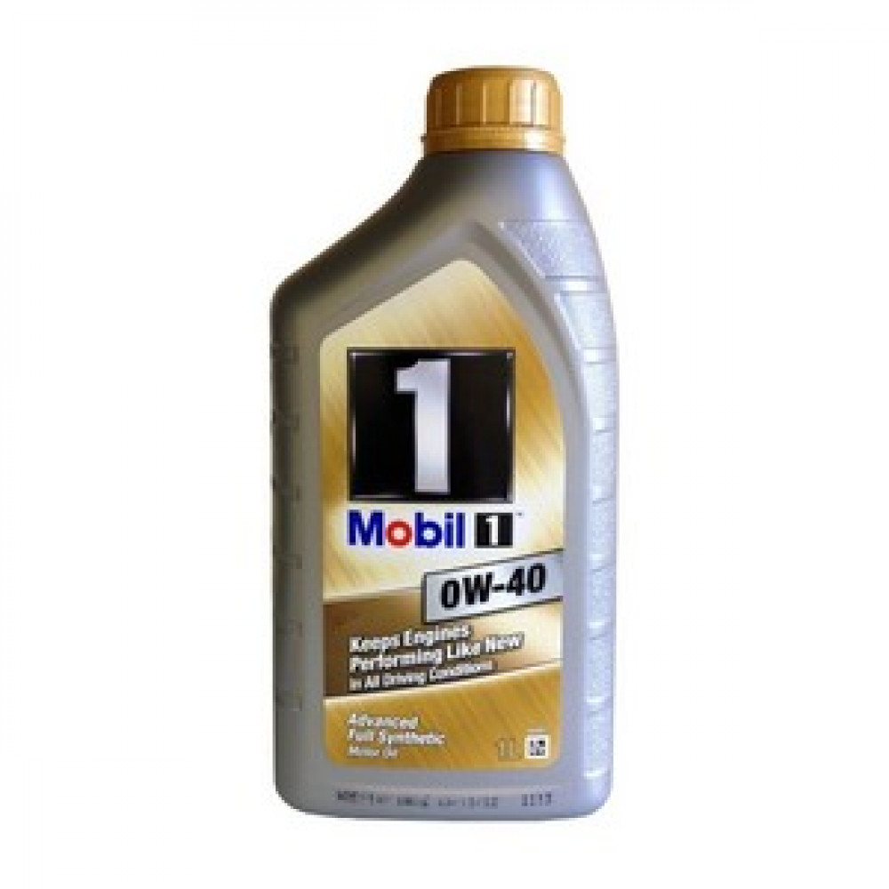 Mobil  1  синт  0w40, масло моторное  1л