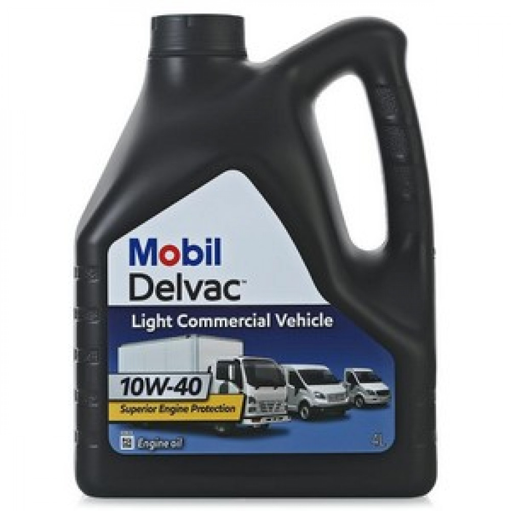 Mobil DELVAC  Light  10W-40, масло моторное  4 л